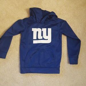 NY Giants boys hoodie size 5/6